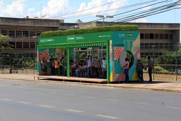Ponto ônibus conteiner - foto 2